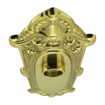<PRE>Solid Brass Doorplate, No Keyhole, 7.75in H x 2.625in W Ornate</PRE>zoom7