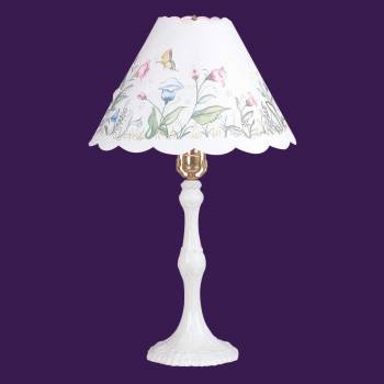 Table Lamps - Spring Lamp White Base by the Renovator's Supply