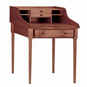 <PRE>Office Desk Antique Solid Pine Bradford Desk 30&quot;W </PRE>