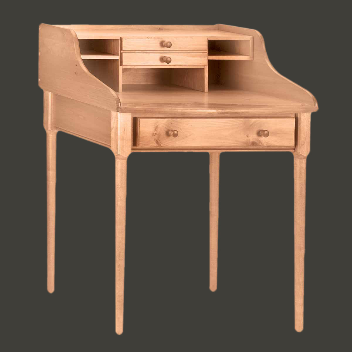 Office Desk Country Solid Pine Bradford Desk 30 W
