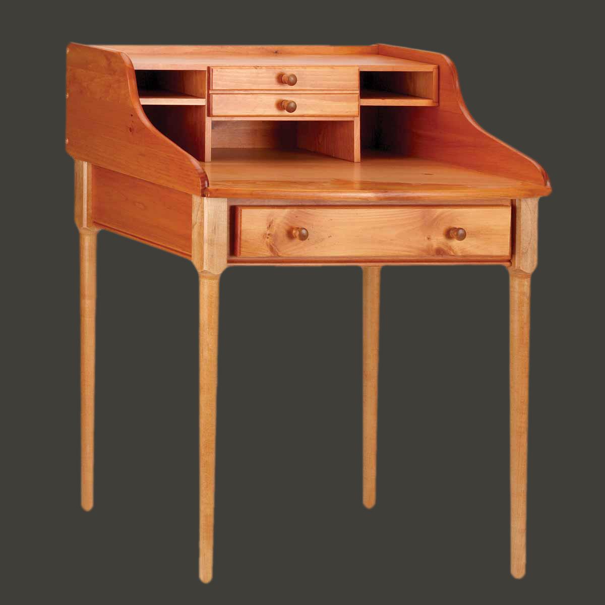 Office Desk Heirloom Solid Pine Bradford Desk 30 W