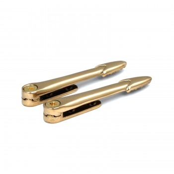Pair of Bright Solid Brass Stair Holds 4 Brass Stair Holds Carpet Runner Holders Polished Stair Carpet Runners
