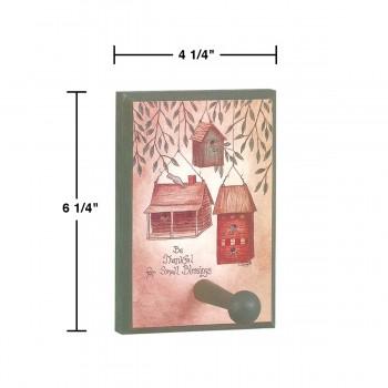 "spec-<PRE>Peg Rack Pine 1 Peg 4.25""w x 6.25""h x 3""d </PRE>"