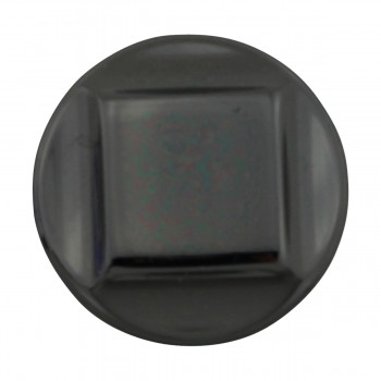 <PRE>Cabinet Knob Nickel Black Cast Brass 1inch Dia </PRE>zoom3