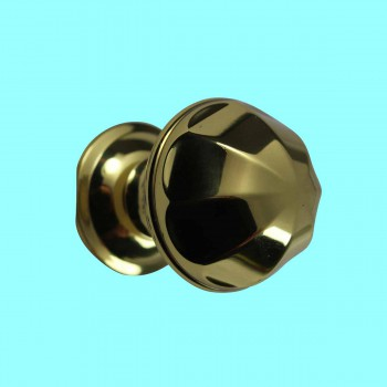 <PRE>Cabinet Knob Bright Brass 1'' Diameter Octogonal </PRE>zoom2