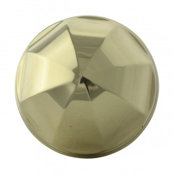 <PRE>Cabinet Knob Bright Brass 1'' Diameter Octogonal </PRE>zoom3
