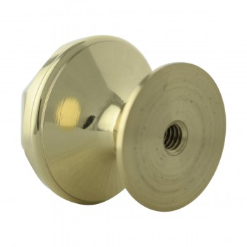 <PRE>Cabinet Knob Bright Brass 1'' Diameter Octogonal </PRE>zoom7