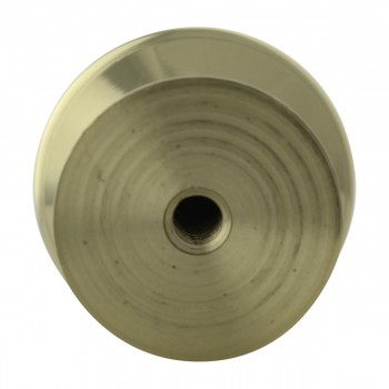 <PRE>Cabinet Knob Bright Brass 1'' Diameter Octogonal </PRE>zoom8