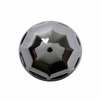 <PRE>Cabinet Knob Bright Chrome Octagonal 1inch Dia </PRE>zoom3