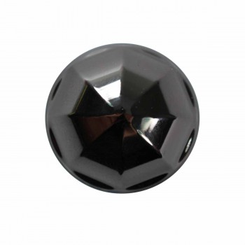 <PRE>Cabinet Knob Nickel Black Brass 1'' Diameter </PRE>