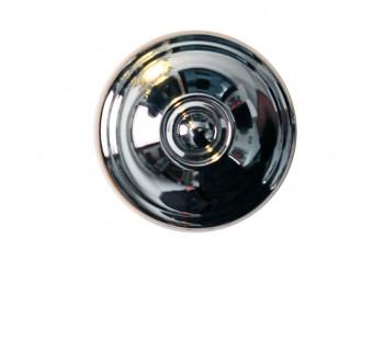 <PRE>Cabinet Knob Bright Chrome 1inch Dia X 7/8&quot; Proj </PRE>zoom3