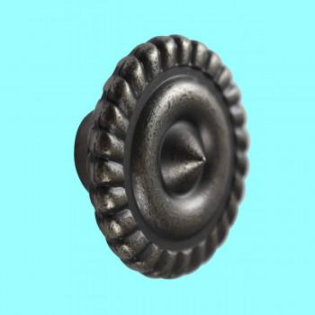 <PRE>Cabinet Knob Pewter Brass 1 1/4inch Dia </PRE>zoom2