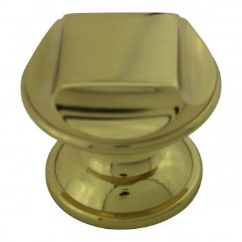 <PRE>Knob Bright Solid Brass Brass Cabinet Knob  1 1/4 in. dia.</PRE>zoom5