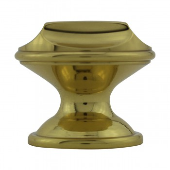 <PRE>Knob Bright Solid Brass Brass Cabinet Knob  1 1/4 in. dia.</PRE>zoom6