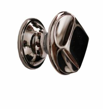 Cabinet Knob Bright Chrome 1 1/4