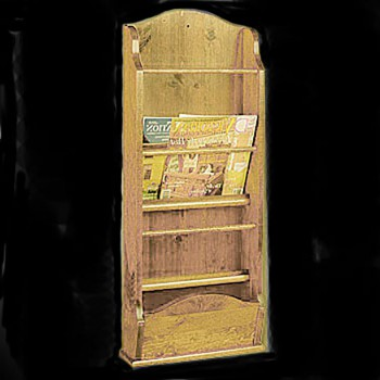 <PRE>Magazine Racks Heirloom Pine Wall Rack 40inchH </PRE>zoom3