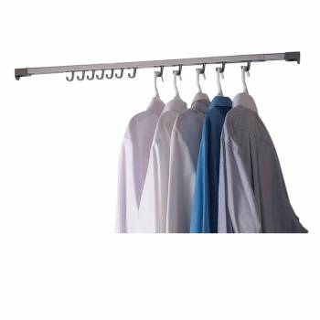<PRE>Closet Organizer Hanger 48inch to 80&quot; Expandable </PRE>zoom1