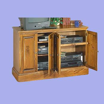 Consoles Country Pine Entertainment Center Kit 31H Entertainment Center Entertainment Centers Entertainment Consoles