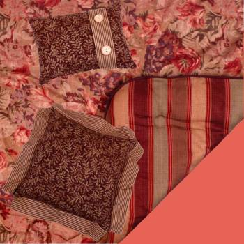 <PRE>Comforter Set Mulberry Cotton Queen Size Waverly </PRE>zoom2