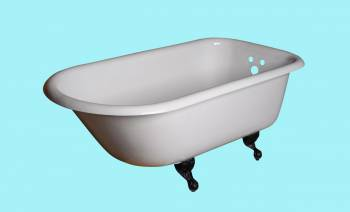 Iron tub -  by the Renovator's Supply