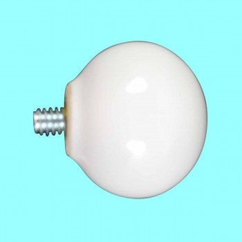 <PRE>Hook White Porcelain 1inch Replacement Ball Knob </PRE>zoom2