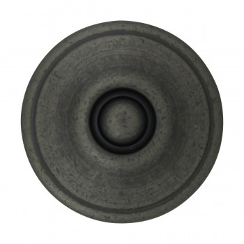 <PRE>Cabinet Knob Pewter Solid Brass 1 1/4inch Dia Colonial </PRE>zoom3