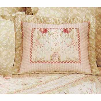 Chantelle Multi Colored Pure Cotton Pillow 21 in. x 27 in. 10457grid