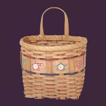 <PRE>Baskets Tan/Multi Wooden Wall Basket 9&quot;H </PRE>