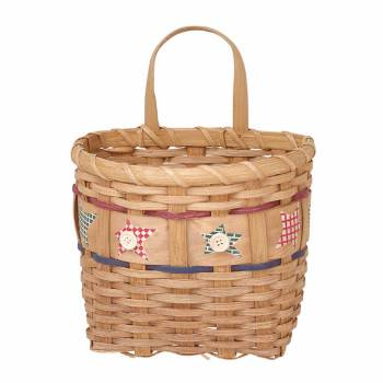 Baskets TanMulti Wooden Wall Basket 9H