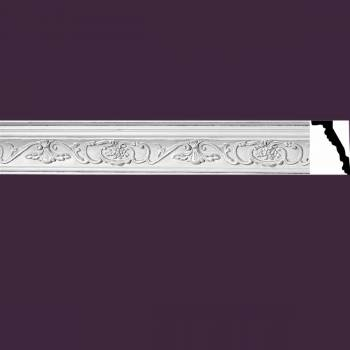 <PRE>Ornate Cornice White Urethane  78 3/8inch L  Vineyard </PRE>zoom2