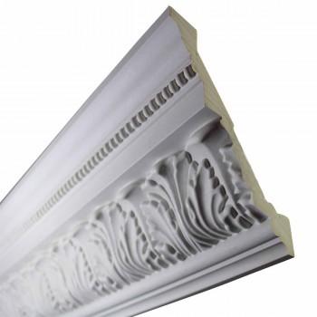 Cornice White Urethane  74 78 L  St. Etienne Ornate Cornice Molds Moulds Decorative White Crown Molding Moulding Simple Ceiling Crown Molding Moulding
