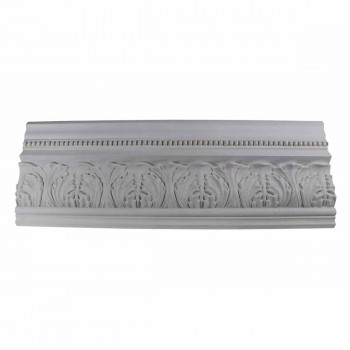 Cornice White Urethane  74 78 L  St. Etienne Ornate Cornice Molds Moulds Decorative White Crown Molding Moulding Simple Ceiling Crown Molding Moulding