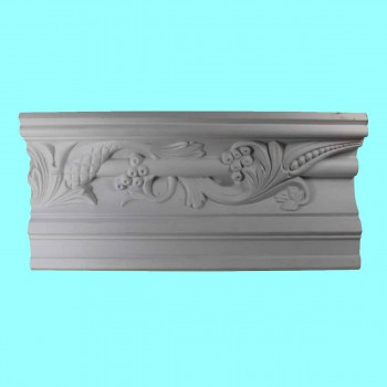 <PRE>Cornice White Urethane Sample of 10503 23.25inch Long </PRE>zoom7