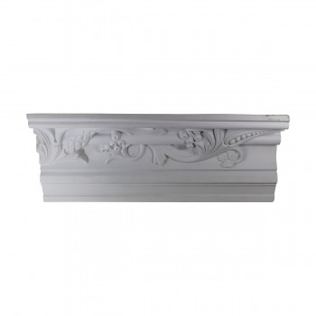 Cornice White Urethane  93 12 L  Julia Ornate Crown Molding Corners Decorative White Crown Molding Simple Ceiling Crown Molding