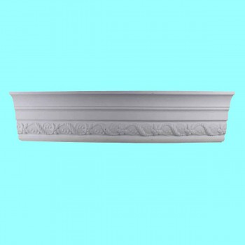<PRE>Cornice White Urethane Sample of 10508 23.25inch Long </PRE>zoom7