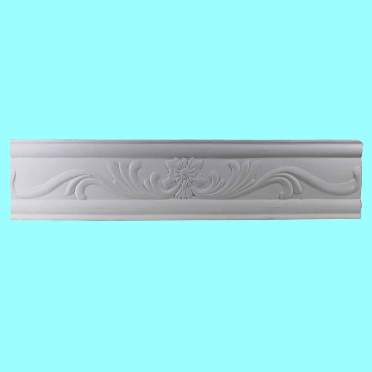 Cornice White Urethane Sample of 10511 19.75 Long Cornice Cornice Moulding Cornice Molding