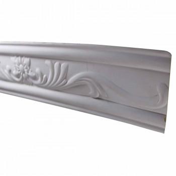 Ornate Cornice White Urethane  79 14 L  Ava Crown Molding Corners Decorative White Crown Molding Simple Ceiling Crown Molding
