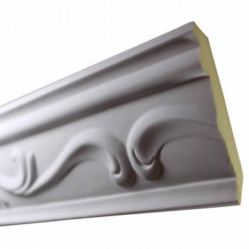 Ornate Cornice White Urethane 3 78 H Sara Durable Cornice Crown Molding Decorative White Crown Molding Simple Ceiling Crown Molding