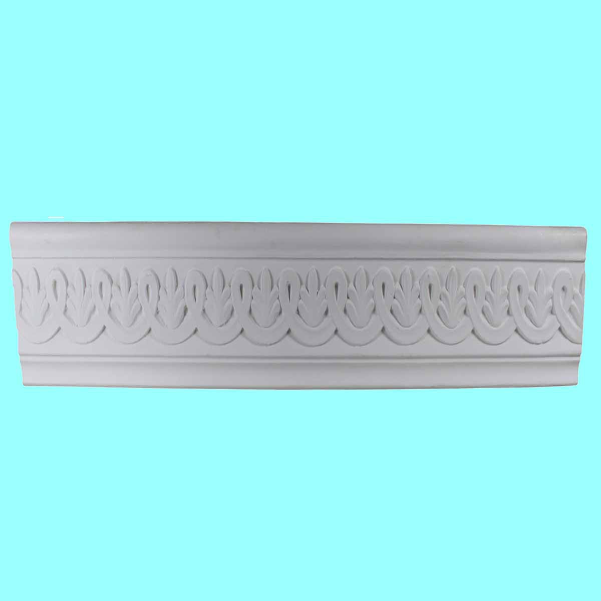 Cornice White Urethane Sample of 10516 19 Long Cornice Cornice Moulding Cornice Molding