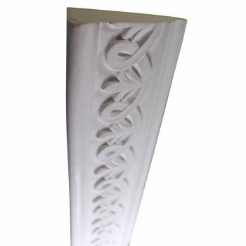White Urethane Foam Legasse Ornate Crown Molding 76.875 in. Long Crown Molding Crown Moldings Crown Moulding