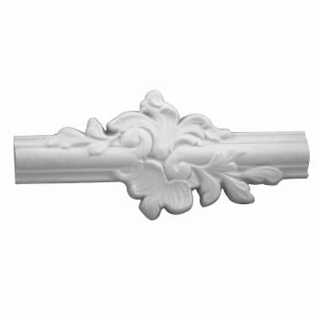 "<PRE>Roman Door Trim White Urethane 9 1/2inch L X 1 1/2"" W  </PRE>zoom1"