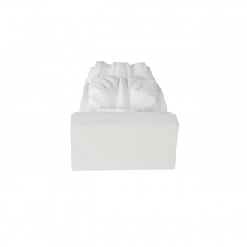 <PRE>Victorian Wall Fireplace Corbel White Urethane Vintage </PRE>zoom3