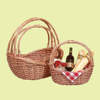 Basket Natural Basket Set of 3 Basket Baskets