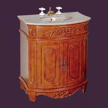 Stone Sinks - Marble Vanity Sink Brittany Marble Countertop Vitreous China Basin by the Renovator's Supply