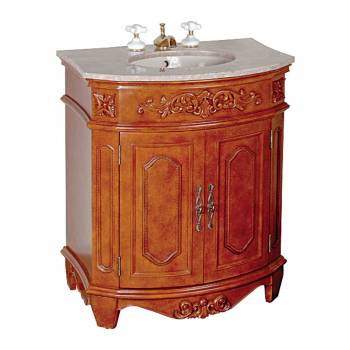 Marble Vanity Sink Brittany Marble Countertop Vitreous China Basin