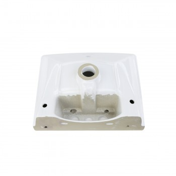 <PRE>Renovator's Supply Child White Bathroom Pedestal Sink Centerset Faucet Holes</PRE>zoom6