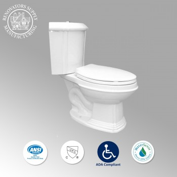 Corner Toilets 10688 by the Renovator's Supply
