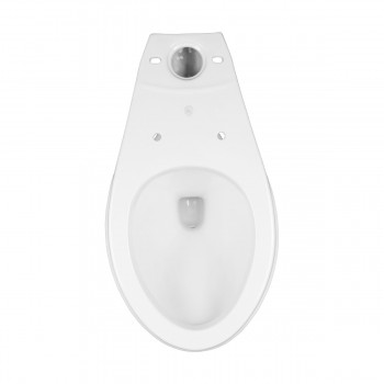 Dual Flush Elongated Two Piece Bathroom Toilet White Corner Toilet Modern Dual Flush Push Button Elongated Toilet High Quality Heavy Duty Flushing Comfort Corner Bathroom Toilets