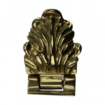 Decorative Cast Brass Sash Lift For Window 10706grid