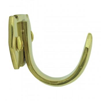 <PRE>Victorian Solid Brass Sash Lift </PRE>zoom5